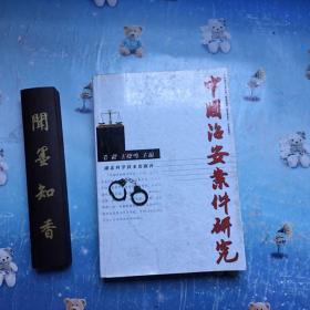 中国治安案件研究