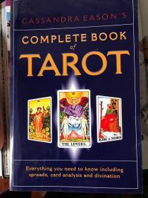 英文原版 Cassandra Easons Complete Book of Tarot