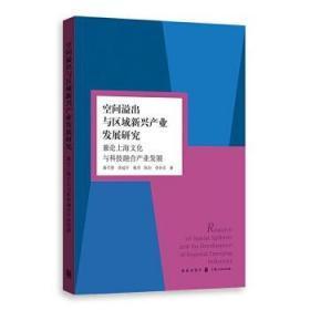 空间溢出与区域新兴产业发展研究 兼论上海文化与科技融合产业发展