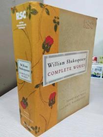 William Shakespeare Complete Works  皇家莎士比亚全集RSC  【英文原版,全新佳品】