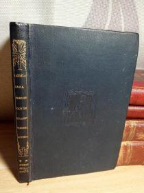 1899年布面精装版 书顶金色 毛边 有签字 有张拉页地图 15.5*10cm THE TEMPLE CLASSICS EDITED BY ISRAEL GOLLANCZ M.A.