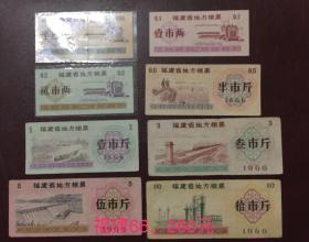 1966年福建省地方粮票