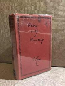 Reading, Writing and Remembering(E.V.卢卡斯《且读且写且铭记》,文豪的自传,文笔一流,带插图,布面精装,难得带护封,1933年老版书)
