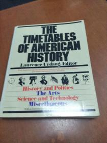THE TIMETABLES OF AMERICAN HISTORY , LAURENCE URDANG, EDITOR