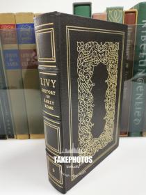 history of early rome 《罗马史》 Livy 李维 经典史学名著 easton press 1978年出版 真皮精装 收藏版