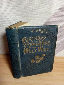 有张《最后的晚餐》的图片 10.5*7cm 布面精装版 三面金边 袖珍版 BIRTHDAY  REMINDERS FROM HOLY WRIT