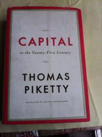 Capital in the Twenty-First Century       英文原版  布脊精装厚册