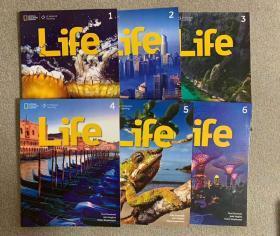 美国国家地理ng learning出版life全套6本