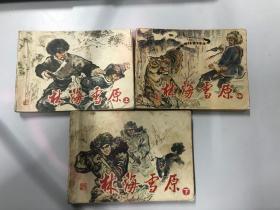 林海雪原 连环画 (上中下)