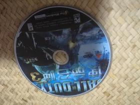 游戏光盘 使命召唤3 DVD光盘1张 裸碟