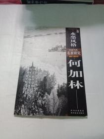 中国当代名家研究-水墨风格 何加林 实拍图