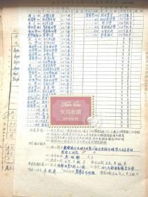 牟致远先生1948年金陵大学填表二页