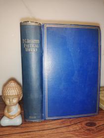 1905年 The Poetical Works of Dante Gabriel Rossetti 《但丁.加百利.罗塞蒂的诗歌作品》 19.5X13.5CM
