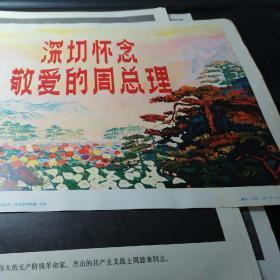 深切怀念敬爱的周总理新闻展览照片农村普及版