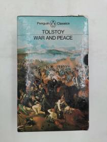 War & Peace Volume 1 volume 2 两卷合售