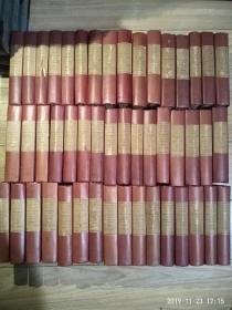 英文原版  司各特威弗利小说集全套48册,三十二开本布面精装毛边,Waverley Novels by Sir Walter Scott