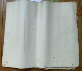 清朝 空白宣纸 23张  33/29cm