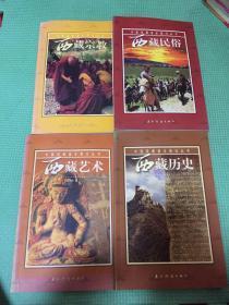 中国西藏基本情况丛书:西藏民俗  西藏艺术 西藏历史 西藏宗教