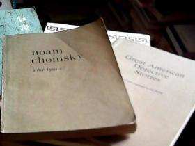 Noam Chomsky、Great American Detective Stories(2册合售)