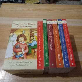 The Little House Collection Box Set 彩色插图版 小木屋系列 5册盒装