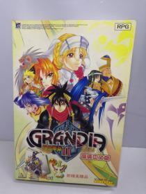 游戏光盘 格兰蒂亚II 2 简体中文版(4CD光盘+1册操作说明书)