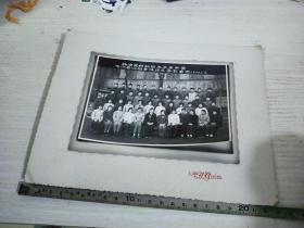 1977杨浦区纺织职工子弟中学76届全体师生合影留念