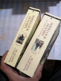 Sherlock Holmes : the complete novels and stories (福尔摩斯探案全集,英文原版,两册全,) 正版现货(内页干净