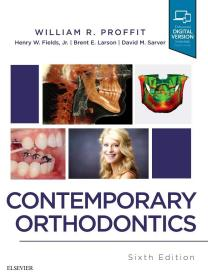 现货  Contemporary Orthodontics, 6e  英文原版 现代口腔正畸学  William R. Proffit DDS PhD , Henry W. Fields Jr. DDS MS MSD