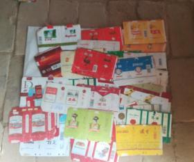 各种烟标三十八张合售