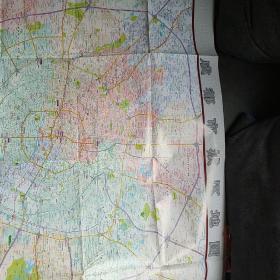 成都市城区地图。