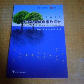 2013中国企业健康指数报告