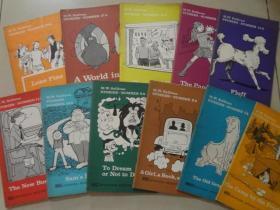 英文原版 漫画书 m w sullivan stories (27本合售)看图  32开