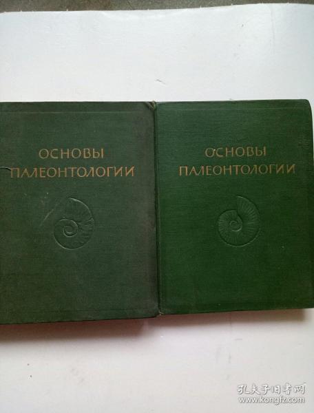 (俄文原版) OCHOBbI  详细名称请看图(2本合售)