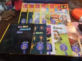 Kids Brown2.0 Level布朗儿童英语 【1】(6.7.8.9.10+练习册6.7.8.9.10供10本)都有光盘,未使用过.