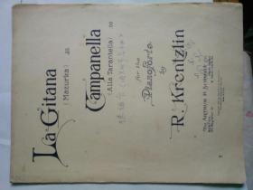 la gitana(mazurka)campanella(alla tarantella)