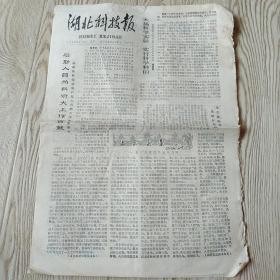 老报纸:1979年2月5日湖北科技报(武汉市一九七儿年数学竟赛题解)