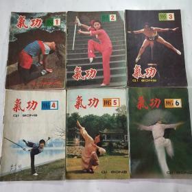 气功杂志(双月刊)1985年1一6