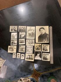 八十年代辽阳首山美女学生老照片20张
