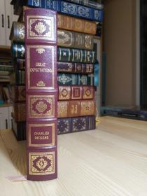 Great Expectations 远大前程 Easton Press 真皮精装豪华收藏版 ,书口三面刷金