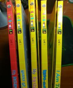 Kids Brown2.0 l 布朗儿童英语 (1-5册书+光盘+练习册共10本)看图再拍。