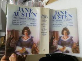 现货 Jane Austen. The Complete Novels Illustrated 英文原版 简·奥斯丁 简·奥斯汀全集 Sense and Sensibility | Pride and Prejudice | Mansfield Park | Emma | Northanger Abbey | Persuasion