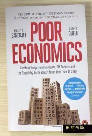 原版书 Poor Economics Abhijit Banerjee 贫穷的本质 2019年诺贝尔经济学奖