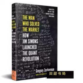 精装原版书 The Man Who Solved the Market Gregory Zuckerman