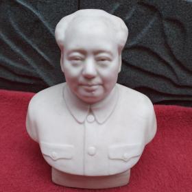 毛主席半身瓷像-[保真]