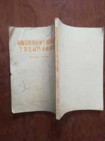 【苏联为实现社会主义的国家工业化而斗争的时期