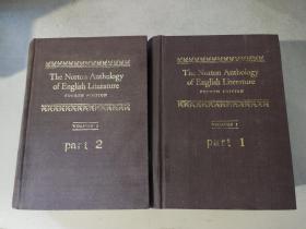 TEH NORTON ANTHOLOGY OF ENGLISH LITERTURE  诺顿英国文学诗文选集 第1卷 第1、2册[两本合售]
