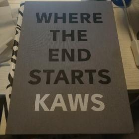 KAWS: Where the End Starts (大16开,硬精装)