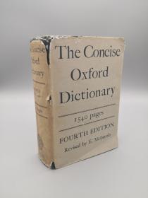 【英文词典】The Concise Oxford Dictionary   Forth Edition(简明牛津词典 第四版)