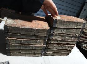 清,线装木刻《康熙字典》超厚40厘米左右,稀见!成套,品稍弱,有好,有弱,书都能打开!喜欢的来,漏,漏!
