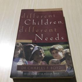 Different Children, Different Needs  Understandi